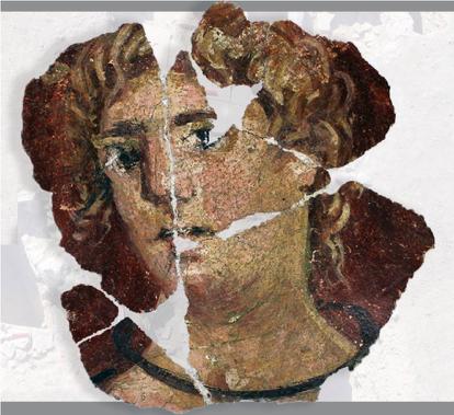 Resim 12: C Bölgesi, Roma Dönemi Portre Fresk