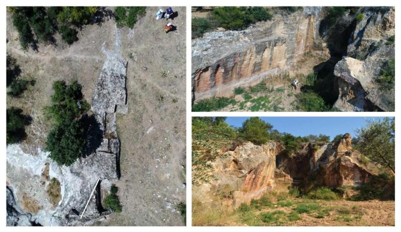 Resim 15: Antik Taş Ocakları, Yıkıklar ve Boşnaktepe