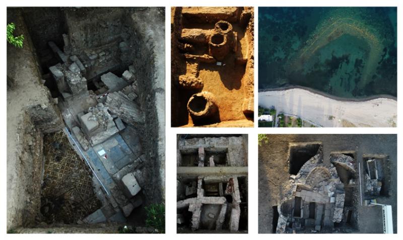 Resim 6: A, D, E ve C Bölgeleri ve Antik Liman