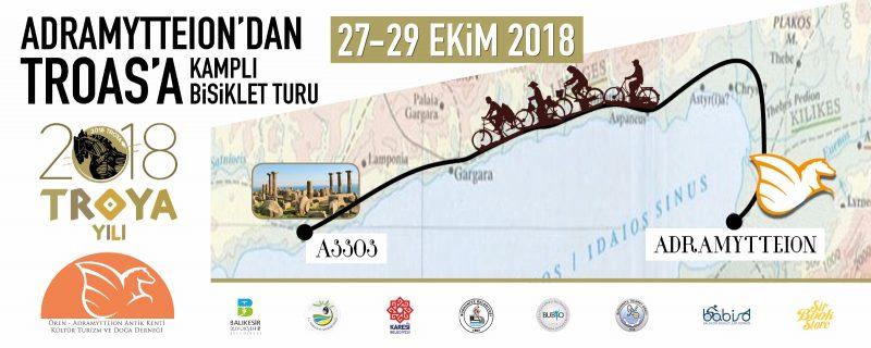Adramytteion'dan Troas'a Kamplı Bisiklet Turu