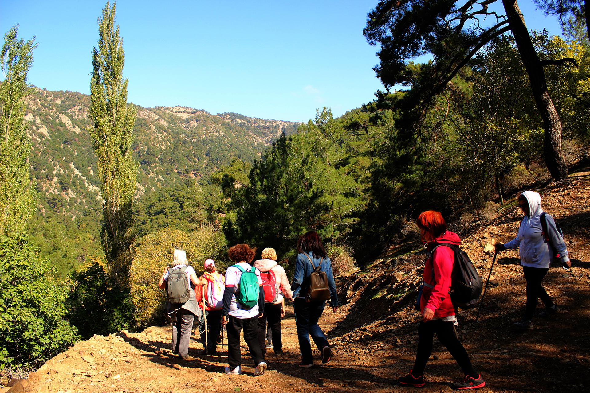 1. Adramytteion Festivali Doğa Yürüyüşü